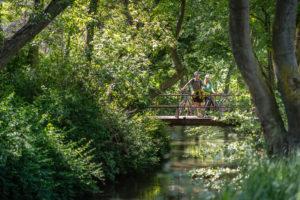RUR_HL_Brücke mit Radler