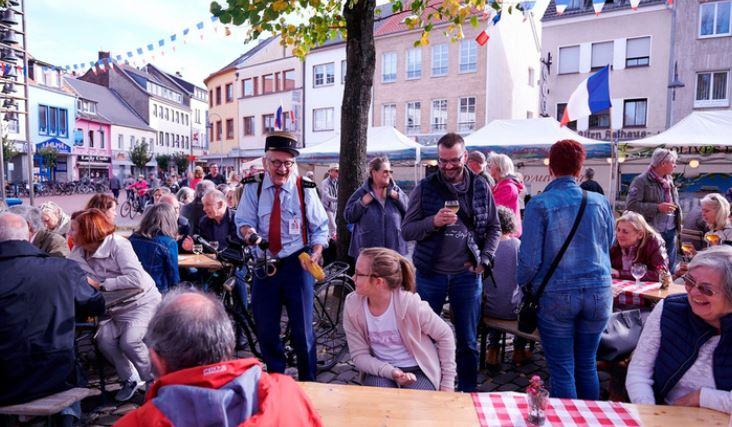 Französicher Markt erkelenz Bildergalerie Foto RP Renate Resch