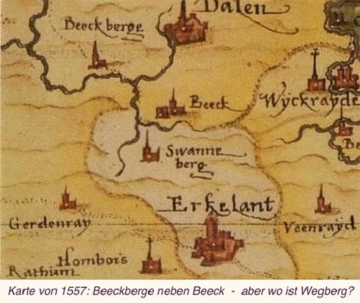 Kartenmaterial_Karte von 1557 Beeckberge_BildergalerieTeil1Teil2
